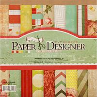 Набор бумаги для скрапбукинга БЕЛОСНЕЖКА Яркие цветы / 010-SB -