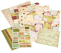 Набор бумаги для скрапбукинга БЕЛОСНЕЖКА Лимончелло / 042-SB -