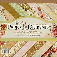 Набор бумаги для скрапбукинга БЕЛОСНЕЖКА Вальс цветов / 080-SB -