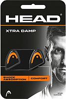 Виброгаситель для теннисной ракетки Head XtraDamp / 285511 (2шт, оранжевый) -