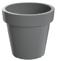 Кашпо Prosperplast Lofly 500 / DLOF500-405U (серый) -