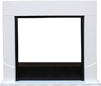 Портал для камина Смолком Luton FS33/FS33W/L33 (бьянко белый) -