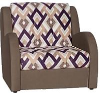 Кресло-кровать Rivalli Барон 70 с ППУ (Ethnos 02/Bahama Hazel) -