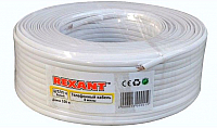 Кабель Rexant CCA ШТЛП-4 / 01-5101-3 (100м, белый) -