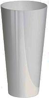 Кашпо Prosperplast Tubus Slim Shine 250 / DTUS250S-S449 (белый) -