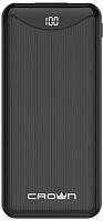 Портативное зарядное устройство Crown CMPB-603 (черный) -