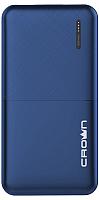 Портативное зарядное устройство Crown CMPB-604 (синий) -
