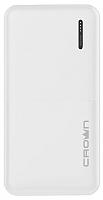 Портативное зарядное устройство Crown CMPB-604 (белый) -