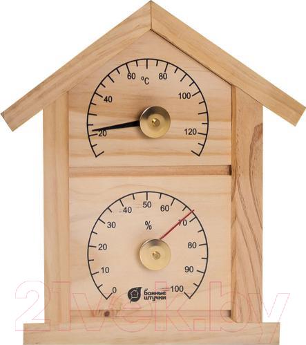 Купить Термогигрометр Банные Штучки, Домик / 18023, Китай, дерево