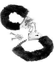 Наручники Pipedream Beginner's Furry Cuffs / 15975 (черный) -