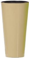 Кашпо Prosperplast Tubus Slim Shine 400 / DTUS400S-7502U (капучино) -