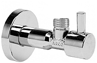 Вентиль угловой Arco Tech А-80 1/2х1/2 ISO 9001 (с ручкой, без гайки) -