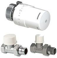 Монтажный комплект для радиатора Arco 1/2 прямой КСТ02 -