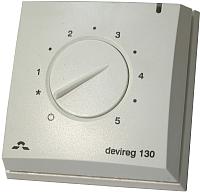Терморегулятор для теплого пола Devi DEVIreg Д-130 (с датчиком температуры) -