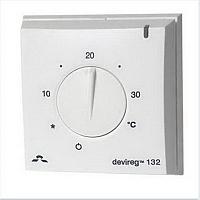 Терморегулятор для теплого пола Devi DEVIreg Д-132 (с датчиком температуры) -