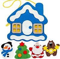 Пальчиковый кукольный театр Smile Decor Новый год. Сумка-игралка / Ф270 -