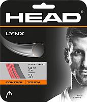 Струна для теннисной ракетки Head Lynx 17 / 281784 (12м, красный) -