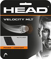 Струна для теннисной ракетки Head Velocity MLT 17 / 281404 (12м, черный) -