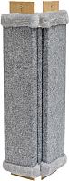 Когтеточка Дарэлл Угловая / RP8409сер (серый) -