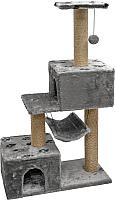 Домик-когтеточка Дарэлл Джут 95 / RP833319 (темно-серый) -