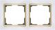 Рамка для выключателя Werkel WL03-Frame-02 / a035253 (белый/золото) -