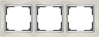 Рамка для выключателя Werkel WL03-Frame-03 / a028902 (слоновая кость) -