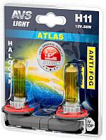 Комплект автомобильных ламп AVS Atlas Anti-Fog A78619S (2шт) -