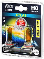 Комплект автомобильных ламп AVS Atlas Anti-Fog A78623S (2шт) -