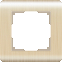 Рамка для выключателя Werkel WL12-Frame-01 / а034611 (шампань) -