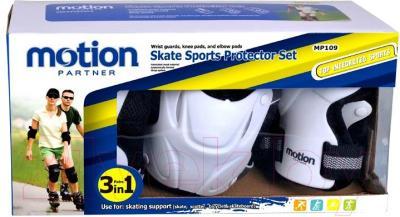 Комплект защиты Motion Partner MP109M (разные цвета) - упаковка