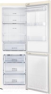 Холодильник с морозильником Samsung RB33J3420EF/WT - внутренний вид