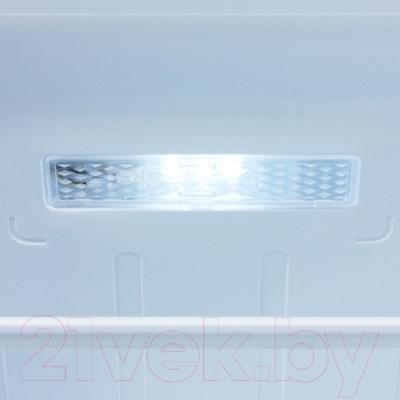Холодильник с морозильником Samsung RB33J3420EF/WT