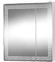 Шкаф с зеркалом для ванной Акваль Паола 60 / EP.04.60.10.L -