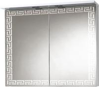 Шкаф с зеркалом для ванной Акваль Паола 80 / EP.04.80.10.N -