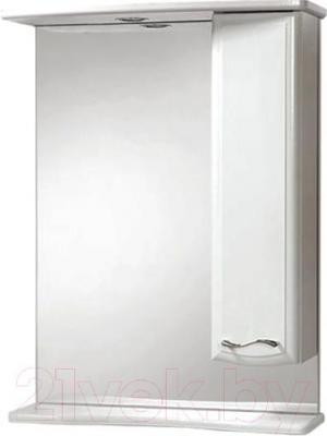 Шкаф с зеркалом для ванной Акваль Грант 60 / В1.1.38.1.9.2