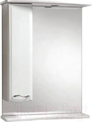 Шкаф с зеркалом для ванной Акваль Грант 60 / В1.1.38.1.9.1 - в интерьере