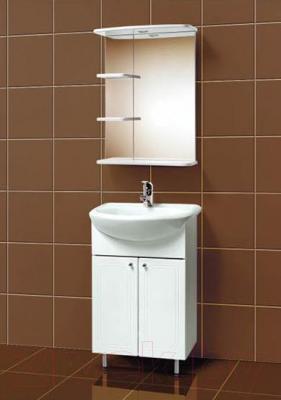 Зеркало для ванной Акваль Овация 55 / В2.3.33.1.9.0 - в интерьере