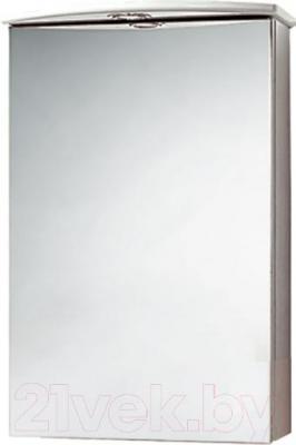 Шкаф с зеркалом для ванной Акваль Эмили 47 / AL.04.47.02.L