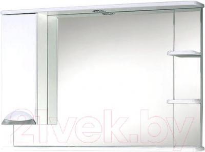 Зеркало для ванной Акваль Аврора 105 / EA.04.05.00.L