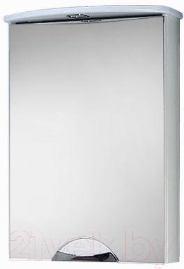Шкаф с зеркалом для ванной Акваль Аврора 50 / EA.04.50.00.L