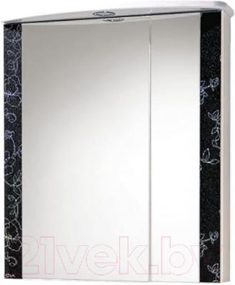 Шкаф с зеркалом для ванной Акваль Токио 60 / ТОКИО.04.60.02.L