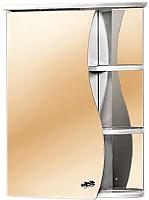 Шкаф с зеркалом для ванной Акваль Милана 50 / AM.04.50.00.L -