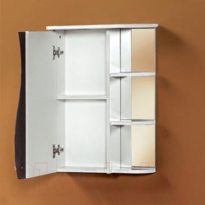 Шкаф с зеркалом для ванной Акваль Милана 50 / AM.04.50.00.L