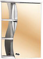 Шкаф с зеркалом для ванной Акваль Милана 50 / AM.04.50.00.R -