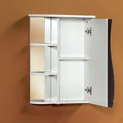 Шкаф с зеркалом для ванной Акваль Милана 50 / AM.04.50.00.R