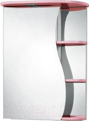 Шкаф с зеркалом для ванной Акваль Милана 50 / AM.04.50.01.L