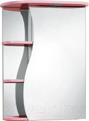 Купить Шкаф с зеркалом для ванной Акваль, Милана 50 / АМ.04.50.01.R, Беларусь
