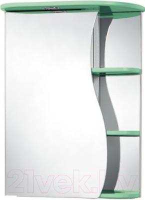 Шкаф с зеркалом для ванной Акваль Милана 50 / AM.04.50.02.L