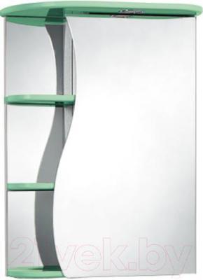 Шкаф с зеркалом для ванной Акваль Милана 50 / АМ.04.50.02.R