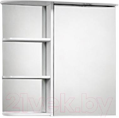 Шкаф с зеркалом для ванной Акваль Милана 70 / AM.04.71.00.R - общий вид